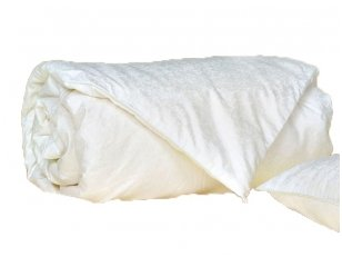 Vasarinė Tencelio antklodė su natūralaus Mulberry su šilko užpildu - A klasė 200x220cm (0,50kg)