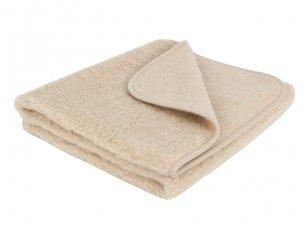 """Australijos merinosų vilnos antklodė """"Migdolas"""" 95x135 cm"""