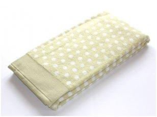 """Frotinis rankšluostis """"DOMINO"""" (šviesiai žalias)"""