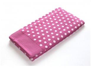 """Frotinis rankšluostis """"DOMINO"""" (Pink)"""