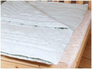 Aukščiausios klasės keturių sezonų antklodė su žąsų pūkų-plunksnų užpildu (dvi antklodės, susegtos sagomis)
