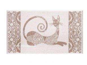 """Lininis rankšluostis """"Egiptietiška katė"""""""