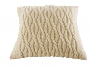 """Megztas merinosų vilnos dekoratyvinės pagalvėlės užvalkalas """"Artumas"""""""
