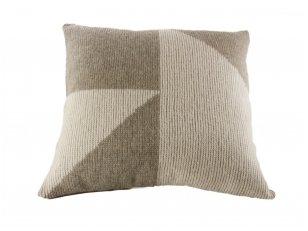 """Megztas merinosų vilnos dekoratyvinės pagalvėlės užvalkalas """"Elegancija"""""""