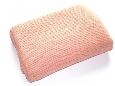 "Medvilninis pledas ""Pink"""