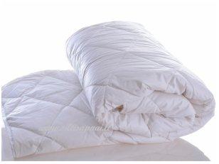 Nukainuota vaikiška vasarinė antklodė su skalbiamos avių vilnos užpildu 250g/m2