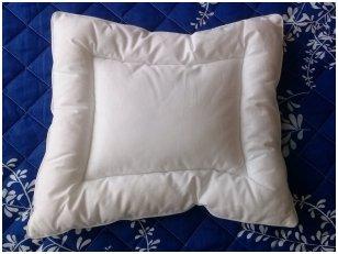 Pirmoji pagalvėlė kūdikiui 40x35 cm
