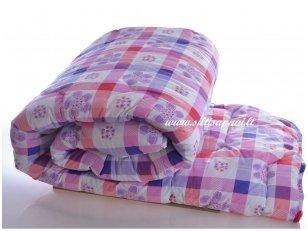 Universali marginta antklodė su poliesterio užpildu 350g/m2
