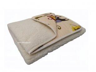 """Vaikiška avių vilnos antklodė """"VERONA"""""""