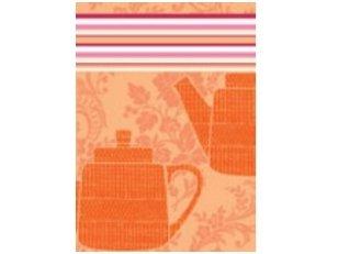 """Virtuvinis rankšluostis """"Tea"""" (oranžinis)"""