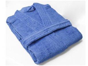 Vonios chalatas (mėlynas)