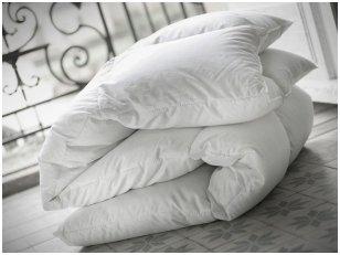 """Vasarinė 90%  pūkų - 10% plunksnų užpildo antklodė """"Morpheus"""""""