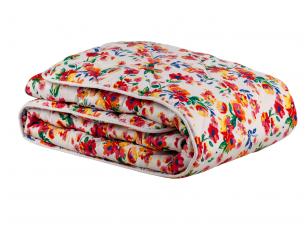 NUKAINUOTA marga antklodė su medvilnės užpildu 600 g/m2 (200X200 cm)