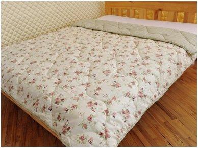Nukainota vasarinė antklodė su vilnos užpildu 250g/m2 2