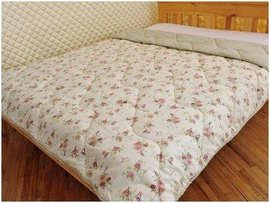Nukainuota žieminė antklodė su vilnos užpildu 500g/m2 2