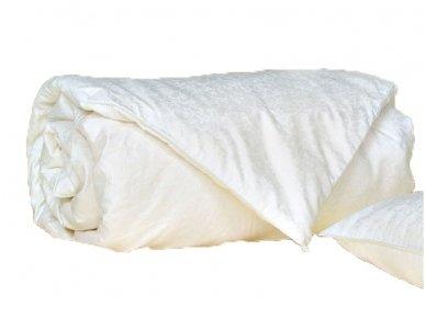 NUKAINUOTA antklodė su natūralaus Mulberry su šilko užpildu 200x220cm (2,00kg)