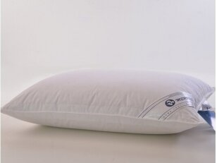 """Nukainota antialerginė pagalvė su poliesterio kamuoliukų užpildu """"Silva"""". Nukainavimo priežastis - parduodami paskutiniai vienetai."""