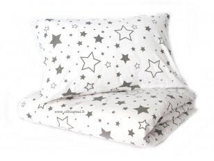 """Antklodės užvalkalas """"Žvaigždžių lietus"""" (145x205 cm)"""