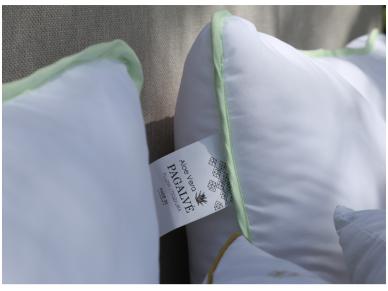 """Antialerginė pagalvė su poliesterio užpildu """"Aloe vera"""" 2"""