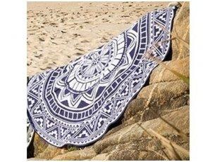 "Apvalus paplūdimio rankšluostis ""Sea"""