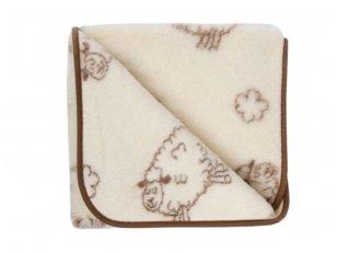 """Australijos merinosų vilnos antklodėlė """"SVAJA"""" 95x135 cm"""