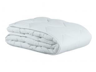 Balta universali antialerginė antklodė su poliesterio užpildu CLASSIC 350 g/m2
