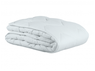 Balta vasarinė antialerginė antklodė su poliesterio užpildu CLASSIC 200 g/m2