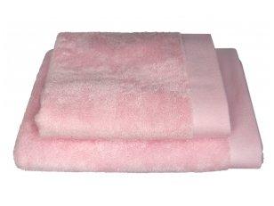 "Bambukinis rankšluostis ""Pink"" (50x100 cm)"