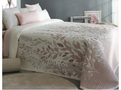 "Dvipusis lovos užtiesalas ""Lisboa"" pink (250x270 cm)"