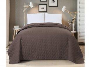 """Dygsniuotas lovos užtiesalas """"Šokoladas"""" (240x260 cm)"""