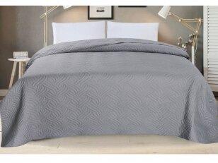 """Dygsniuotas lovos užtiesalas """"Viražas"""" (240x260 cm)"""