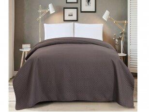 """Dygsniuotas lovos užtiesalas """"Prinokusi vynuogė"""" (240x260 cm)"""