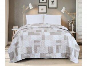 """Dygsniuotas lovos užtiesalas """"Mozaika"""" (240x260 cm)"""
