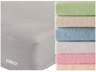 """Frotinė paklodė su guma """"SOFT""""  (Grey)"""