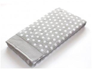 """Frotinis rankšluostis """"DOMINO"""" (grey)"""