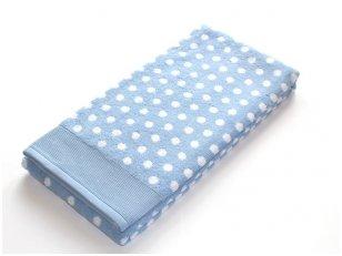 """Frotinis rankšluostis """"DOMINO"""" (blue)"""
