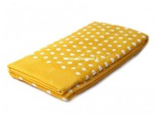 "Frotinis rankšluostis ""Graphic Dots"" (yellow) 50x100 cm"
