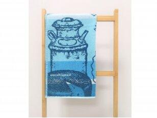 """Frotinis virtuvės rankšluostis """"Sūris"""" 50x50 cm"""
