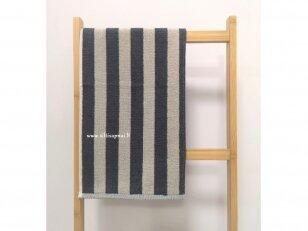 """Frotinis virtuvės rankšluostis """"Linijos"""" (pilkas) 50x50 cm"""