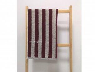 """Frotinis virtuvės rankšluostis """"Linijos"""" (raudonas) 50x50 cm"""