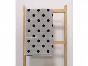"""Frotinis virtuvės rankšluostis """"Taškeliai"""" (mėlynas) 50x50 cm"""