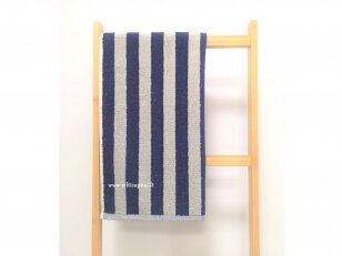 """Frotinis virtuvės rankšluostis """"Linijos"""" (mėlynas) 50x50 cm"""