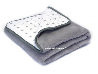 """Kašmyro vilnos antklodė """"Žvaigždės"""" 100x140 cm"""