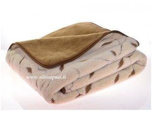 "Kupranugarių vilnos antklodė ""Nefertitė"" (140x200 cm)"