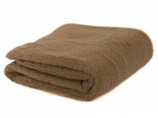 """NUKAINOTA kupranugarių vilnos pledas-antklodėlė """"CAMEL"""". Nukainavimo priežastis – prekė iš ekspozicijos, paprastame įpakavime."""