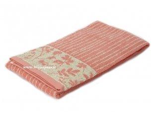 """Lininis rankšluostis """"Botanic"""" (pink linium)"""