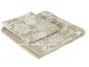 """Lininis rankšluostis """"Pievų gėlės"""" (67x150 cm)"""