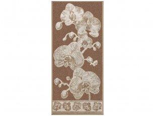 """Lininis rankšluostis """"Orchidėja"""" 81x160 cm"""