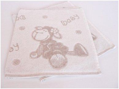 """Lininis rankšluostis """"Baby"""" (40x67 cm) 2"""