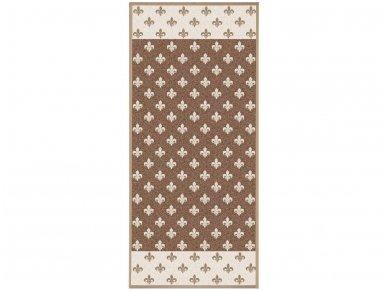"""Lininis rankšluostis """"Karališkos lelijos"""" (67x150 cm, 81x160 cm)"""